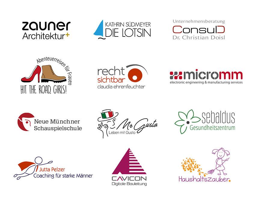 Die Markenbildnerei, München: Logos, Logogestaltung