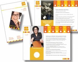 Die Markenbildnerei, München: Geschäftsausstattung, CD Bettina Maier, Büromist