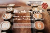 Die Markenbildnerei, München: Preisfindung