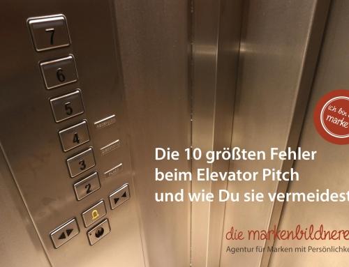 Die 10 größten Fehler beim Elevator Pitch und wie Du sie vermeidest