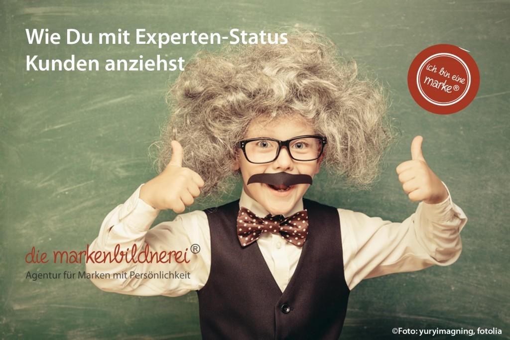 Markenbildnerei, München: Expertenstatus, Kundenakquise