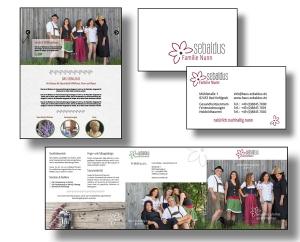 Die Markenbildnerei, München: Logo, CD, Geschäftsausstattung, Website u. Flyer Haus sebaldus