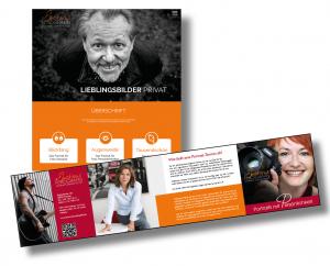 Pfahler-Scharf - Website und Flyer: Die Markenbildnerei