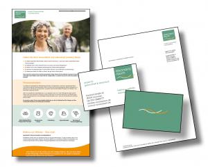 Resonanzraum - Webvisitenkarte, Logo und Geschäftsausstattung: Die Markenbildnerei